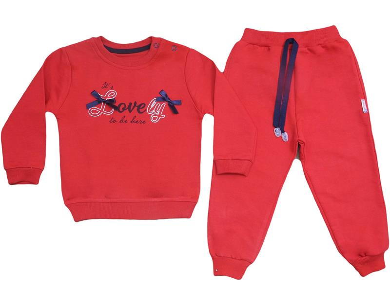 1823 wholesale tracksuit baby girl suit 6-9-12-18 months 3ip