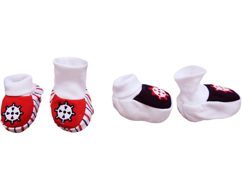 303 wholesale baby booties 12 pc