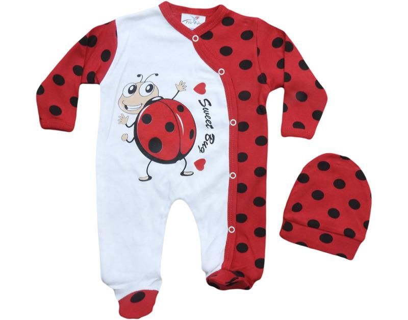 783 wholesale printed baby rompers 6-9 months