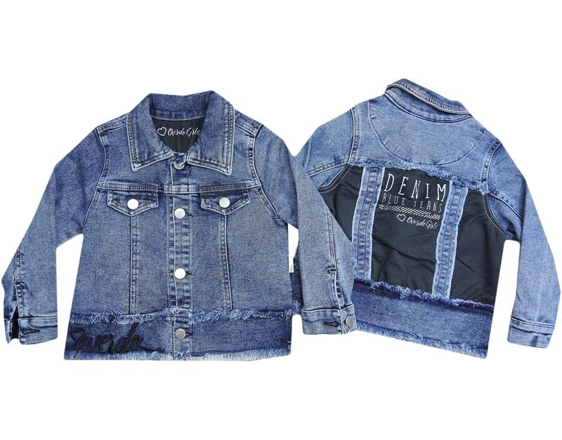 6403 wholesale girl denim jacket 2-3-4-5 age