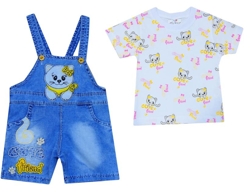 384 wholesale kitty jeans bebe slopet 12-18-24 month