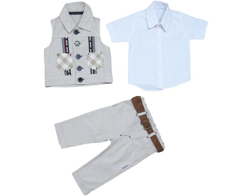1729 wholesale four-piece suit 3-6-9-12 month