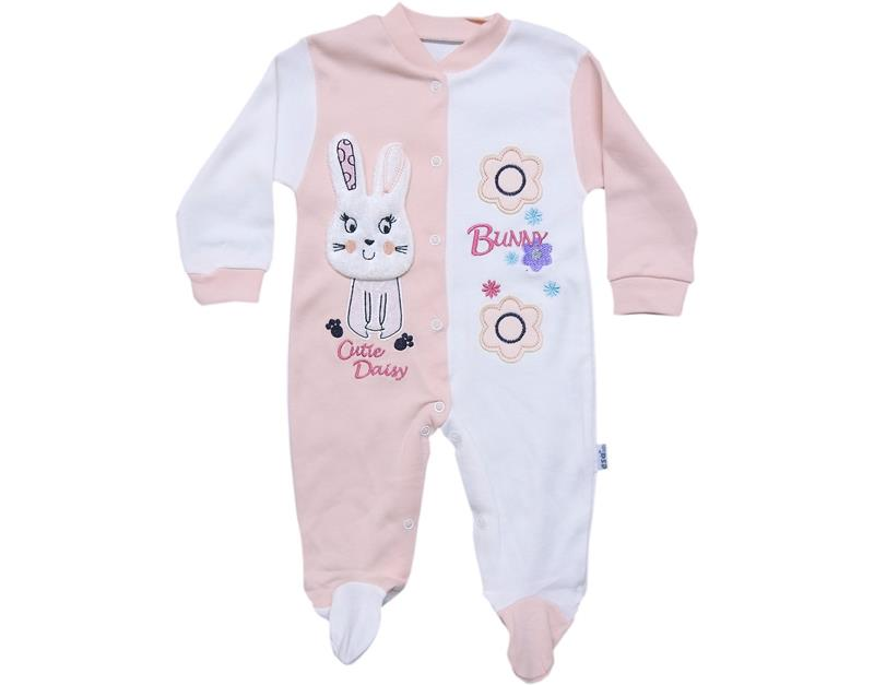 5330 wholesale bunny baby girl rompers 0-3-6 month