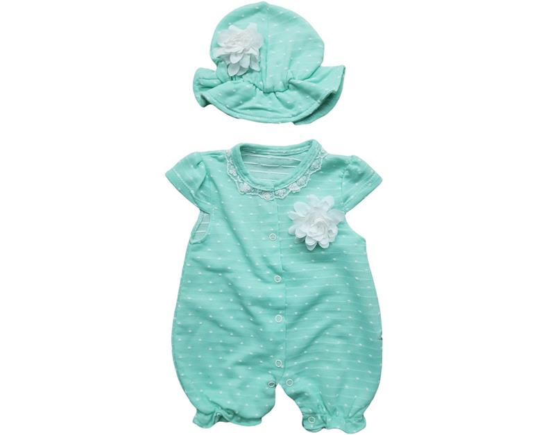 10561 wholesale baby girl rompers 3-6-9 month